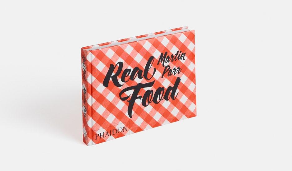 Real Food-boek door Martin Parr