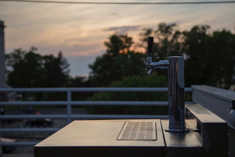 Whirlpool Vessi: bierbrouwen op het dakterras