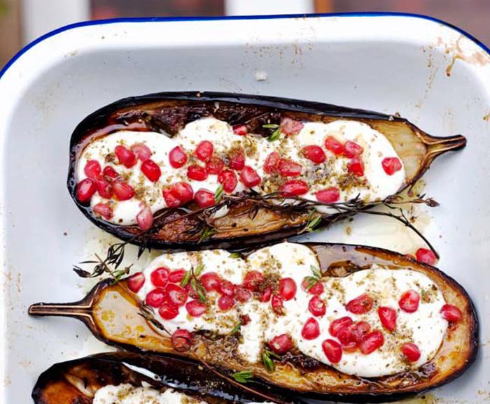 Ottolenghi aubergine gerecht