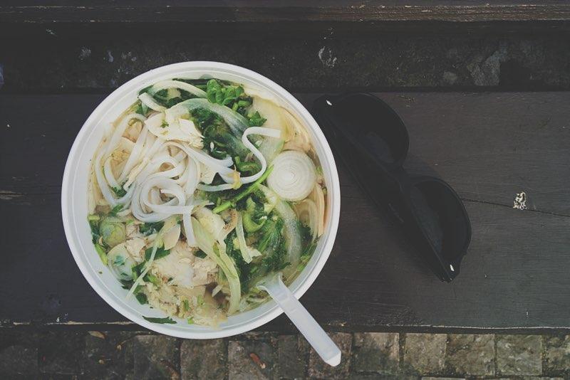 Pho Vietnamese noodlesoep