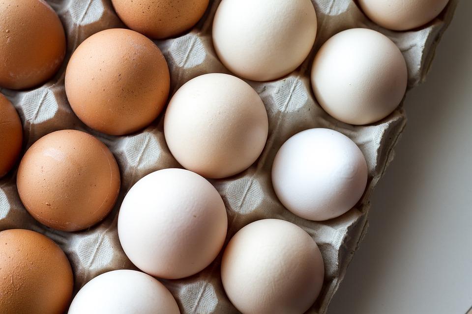 Bruine eieren gezonder?