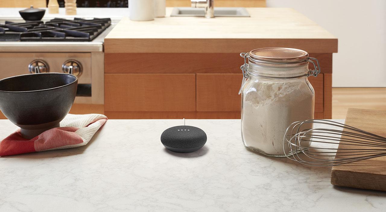 Google Home Mini keuken