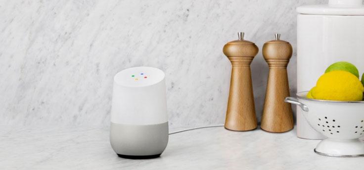 Google Home keuken