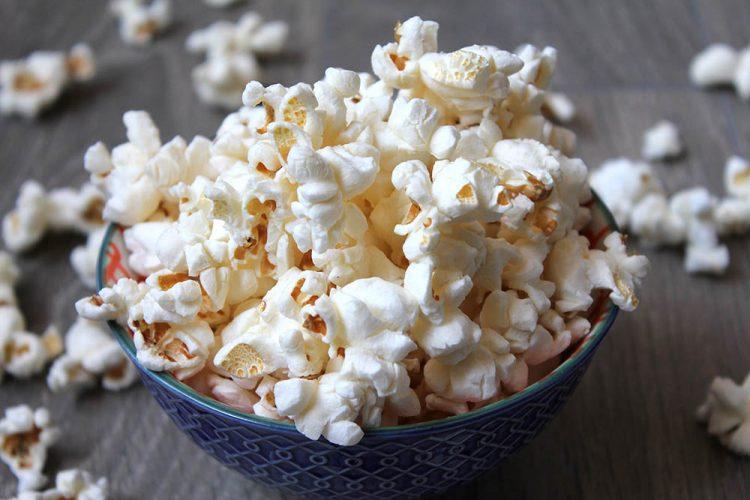 Popcorn in de magnetron maken